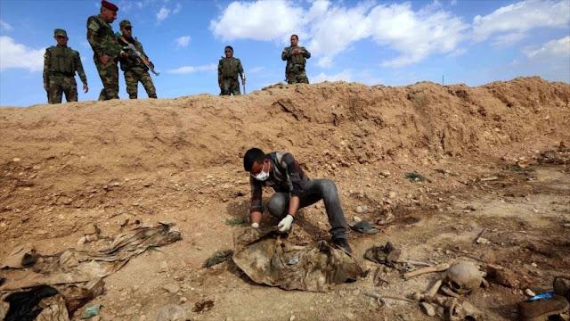 Hallan en Irak fosa común con restos de excandidatos al Parlamento