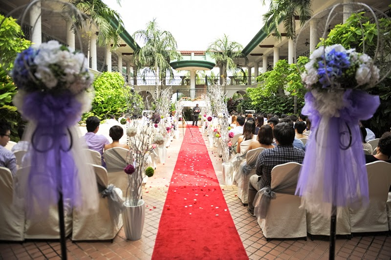 Garden wedding klang Valley
