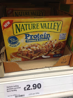 nature valley protein coconut and almond