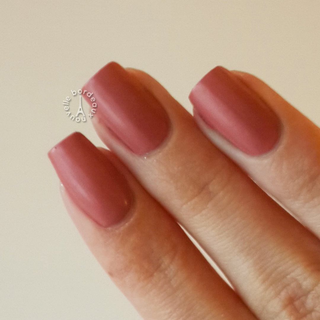 Millanel Mate Nude | Swatch - Bordeaux Nouvelle