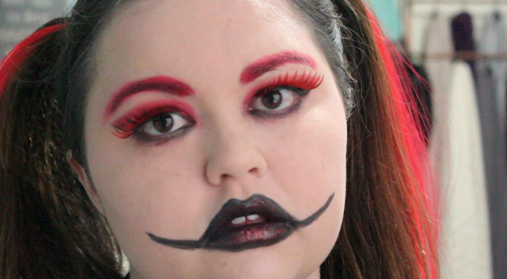 harley quinn makeup - 1004×553