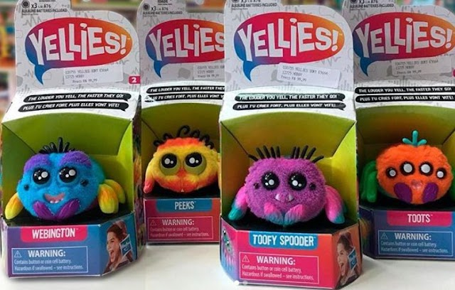Электронные игрушки Yellies или необычные питомцы для детей