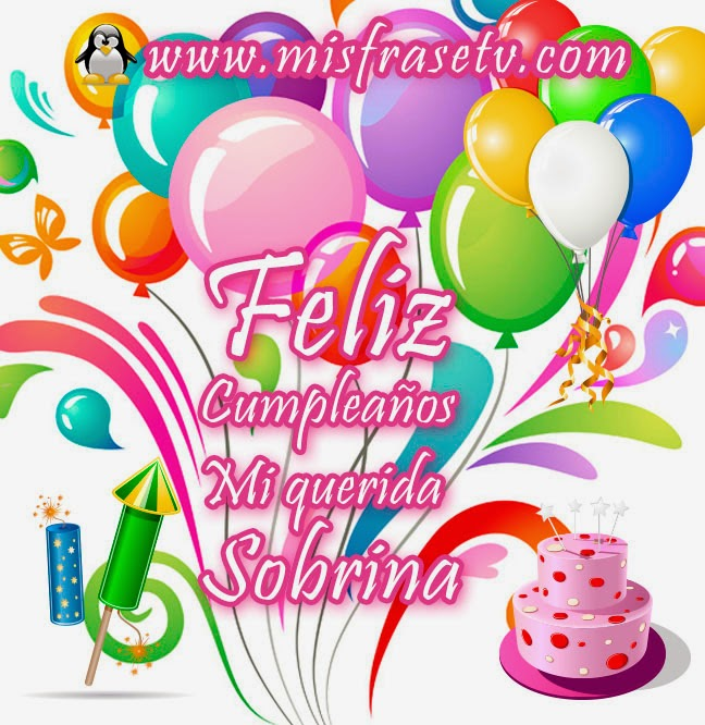 Feliz Cumpleaños Sobrina Ahijada Sarahi Que Tengas Un Día
