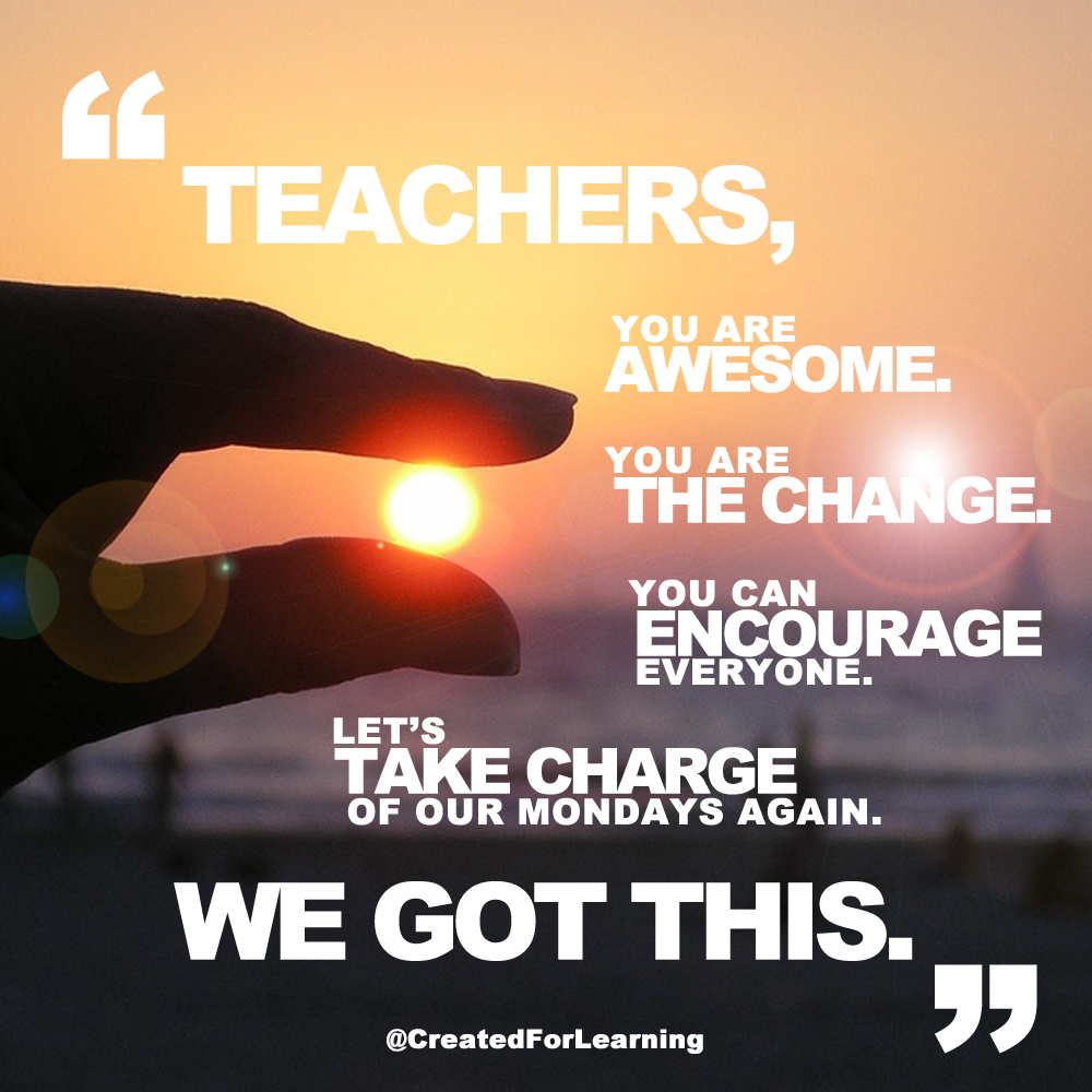 Created For Learning: Monday Morning Motivation (Episode 37