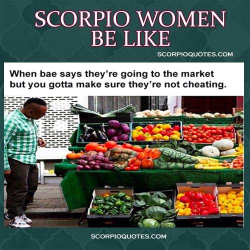 Scorpio Women Be Like Funny Meme 2