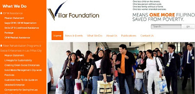 Villar Foundation Website
