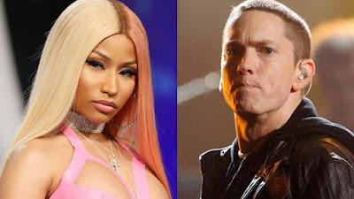 Eminem para show para falar sobre suposto caso com Nicki Minaj.