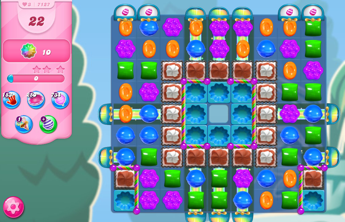 Candy Crush Saga level 7127