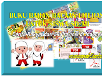 Download 15 buku Bahan bacaan Literasi sekolah untuk siswa SD/MI
