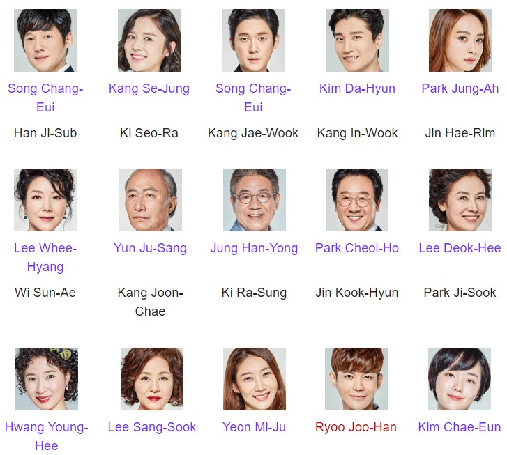 Daftar pemain Drama Korea My Man's Secret Episode 1-Tamat