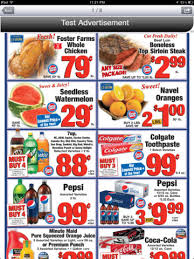 Sale items help you save money on your weekly menu