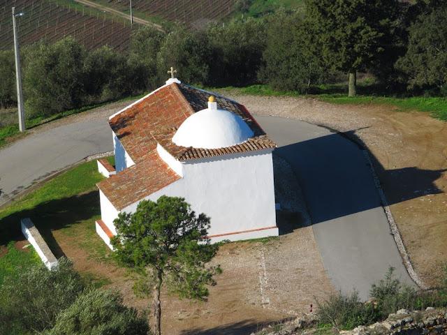 Vista do Castelo de Évora Monte
