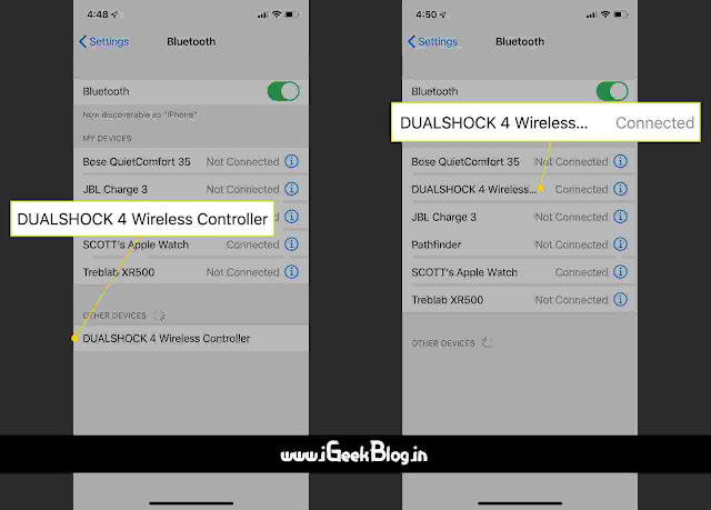 How To Connect a PS4 Controller To iPhone