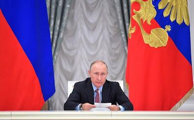 President of Russia, Vladimir Putin.