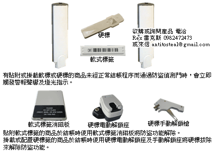 am磁聲式商品防竊系統