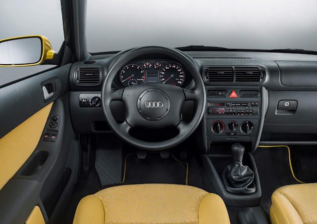 Audi A3 de primeira geração - interior