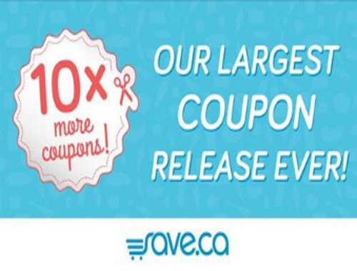 Save.ca Largest Coupon Release Ever