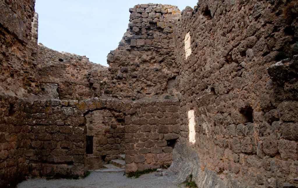 Ruinas de El castillo de Quéribus