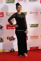 Vennela in Transparent Black Skin Tight Backless Stunning Dress at Mirchi Music Awards South 2017 ~  Exclusive Celebrities Galleries 043.JPG