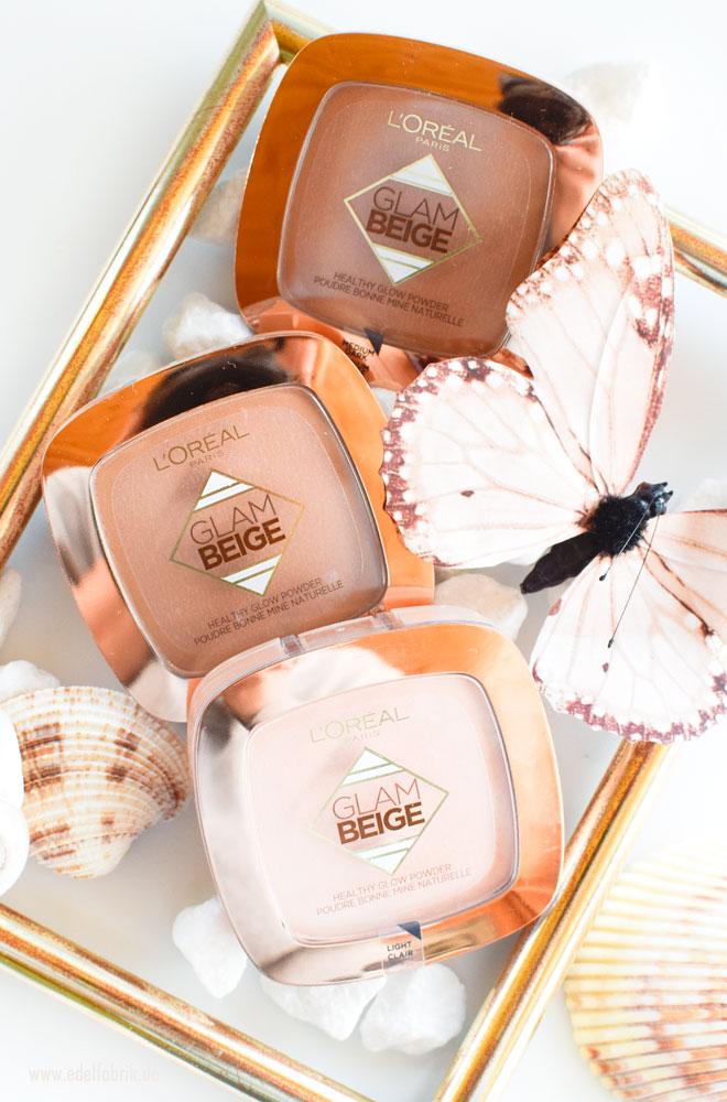 Das neue L'Oreal Glam Beige Healthy Glow Puder