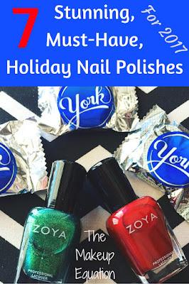 christmas nail polish. holiday nail polish. nail polish gift. red nail polish.