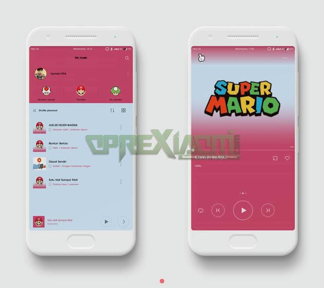 Download Tema Super Mario Mtz V2 Center Clock Update Terbaru