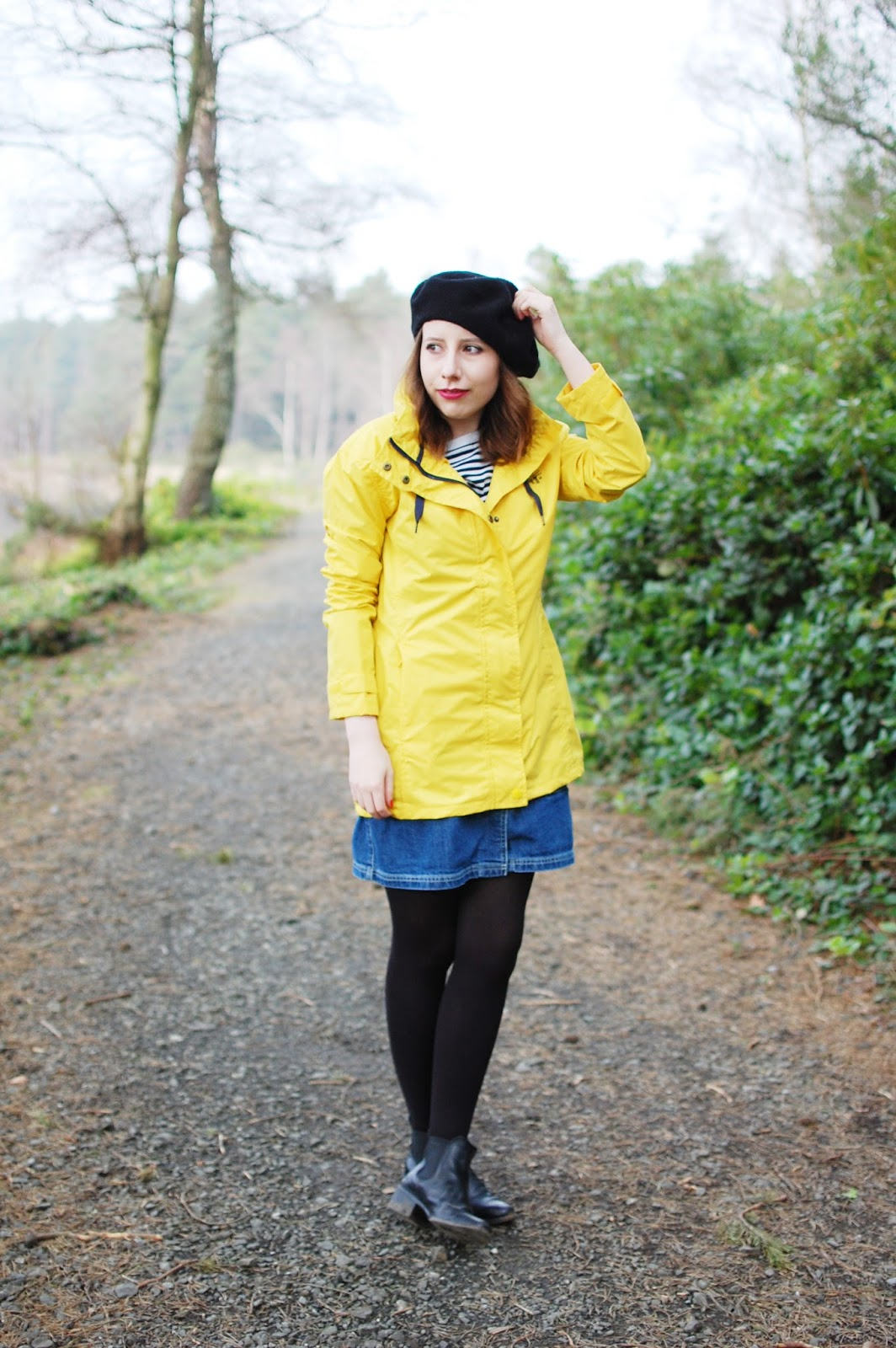 A Rather Yellow Raincoat