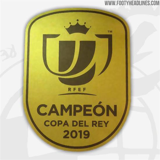 All-New Copa del Rey Winners Badge Revealed - Footy Headlines