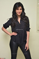 Shruti Haasan Looks Stunning trendy cool in Black relaxed Shirt and Tight Leather Pants ~ .com Exclusive Pics 027.jpg