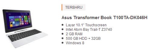 harga laptop asus 4 jutaan murah