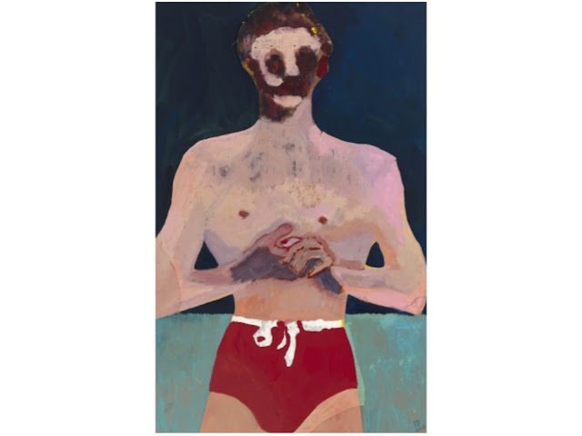 Red Man, Peter Doig