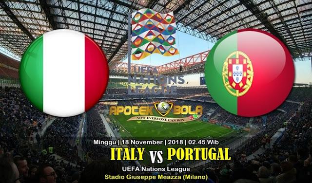 Prediksi Italy Vs Portugal 18 November 2018