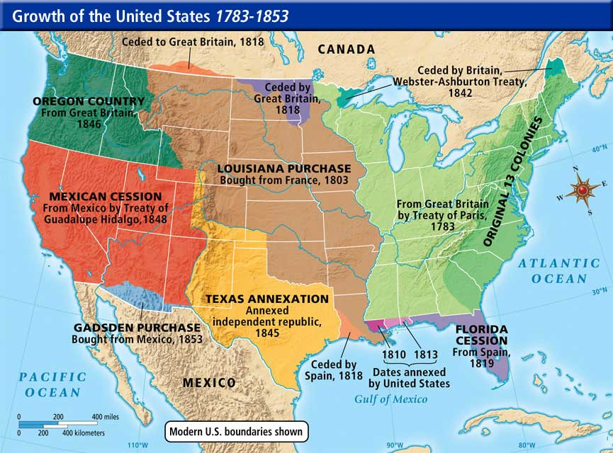 online maps united states western expansion