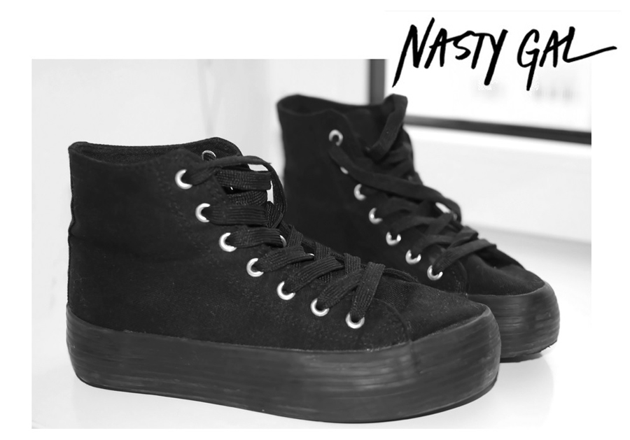 New in - Nasty Gal sneakers!