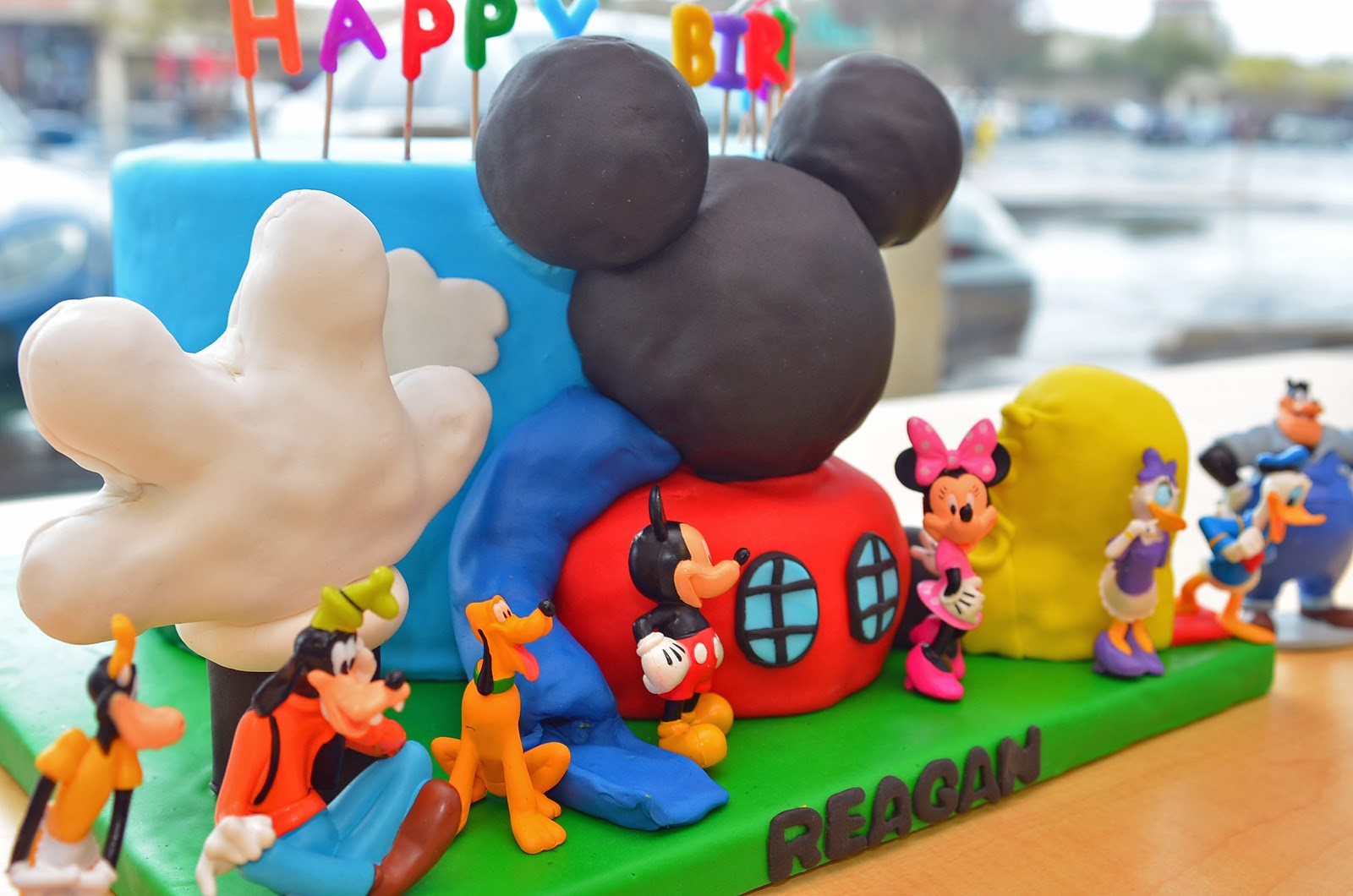 Sab Cakes Mickey Mouse Clubhouse Cake