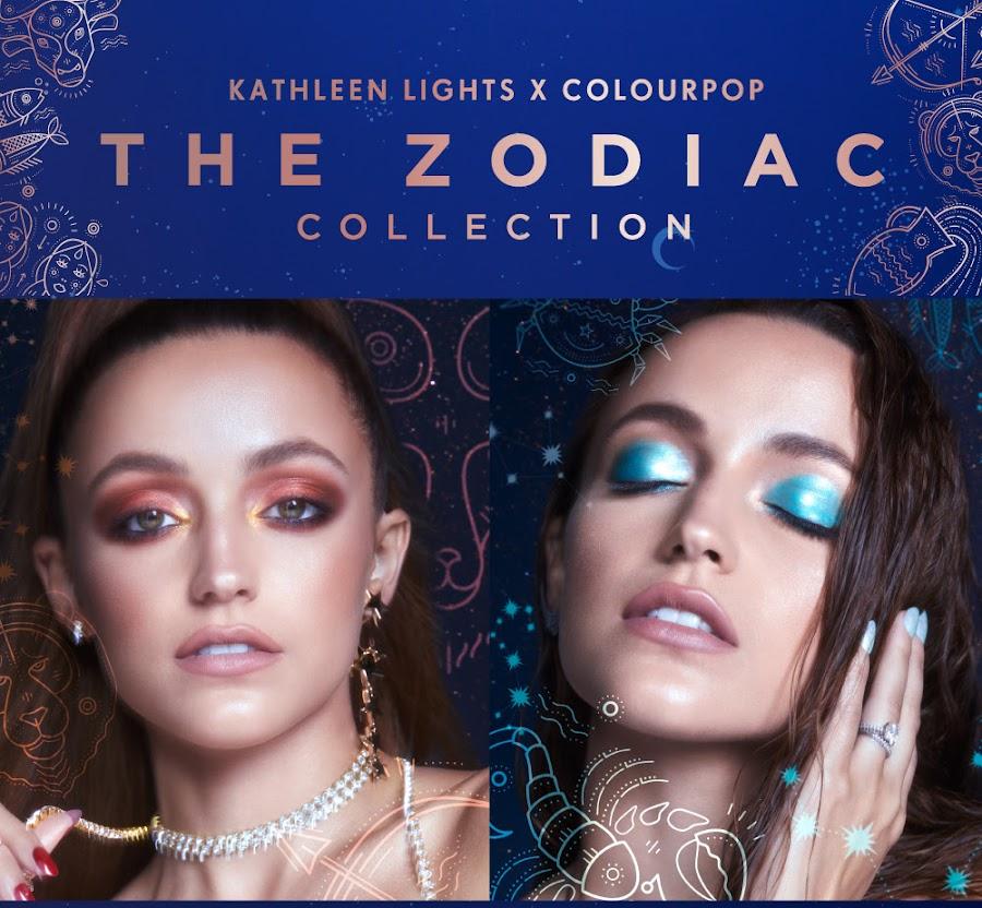 The Zodiac Collection de Kathleen Lights x ColourPop