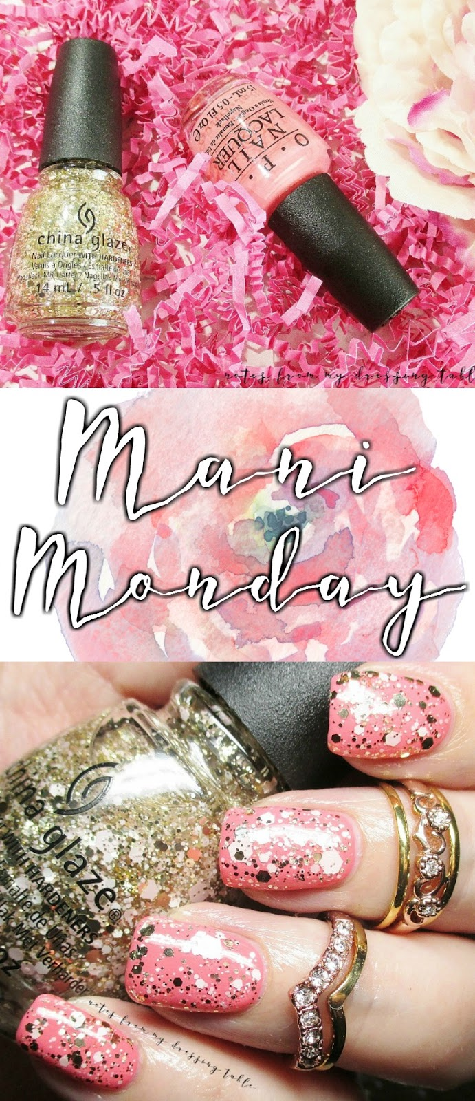 Just Another Mani Monday Featuring OPI and China Glaze - Notes from ...