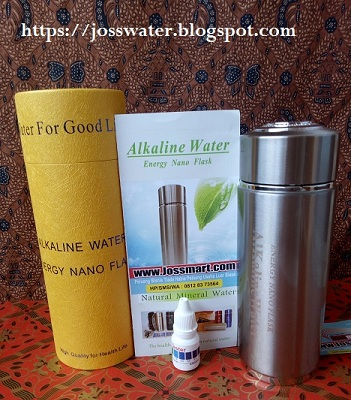 Produk Terbaru Energy Nano Flask Alkaline Water Double Filter