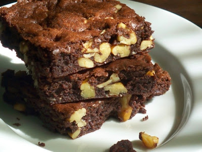 Resep Mudah Membuat Kue Brownies Coklat Yang Kering
