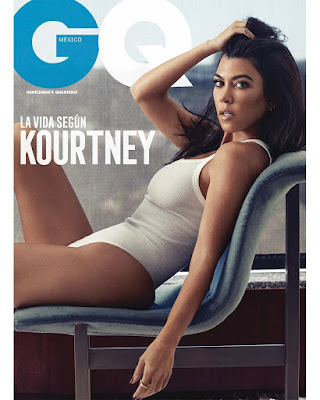 KourtneyKardashian in stunning shots for GQ Mexico