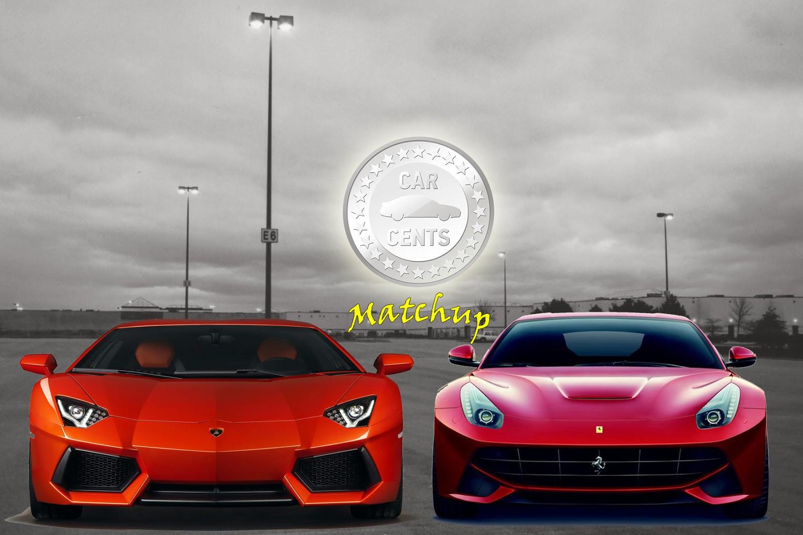 Utah Car Cents Monday Match Up Ferrari F12 Berlinetta Or The