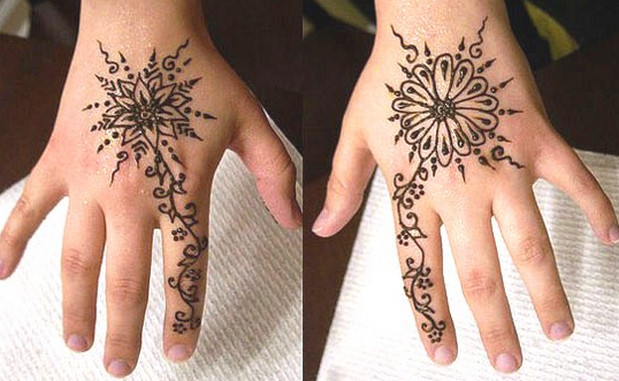The best simple henna designs henna tattoos for Where can i get a henna tattoo near me