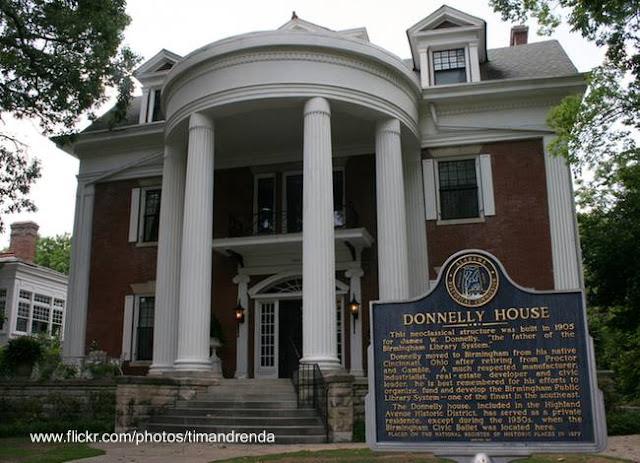 Mansión Donnelly en Birmingham, Alabama