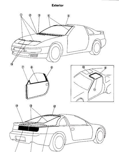 Carrier Infinity System Wiring Diagram 2006 Nissan Patrol Stereo Repair-manuals: 300zx Z32 1996 Repair Manual
