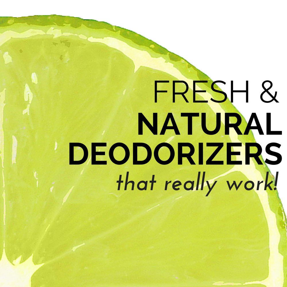 How To Make Natural Home Deodorizers