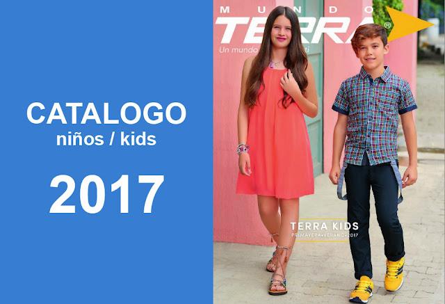 catalogo Mundo Terra calzado para niños kids  PV 2017