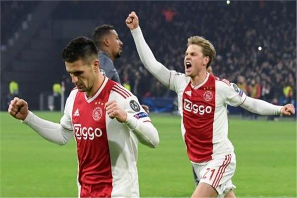 أياكس امستردام تهزم  يوفنتوس وتتأهل لنصف  نهائي الأبطال