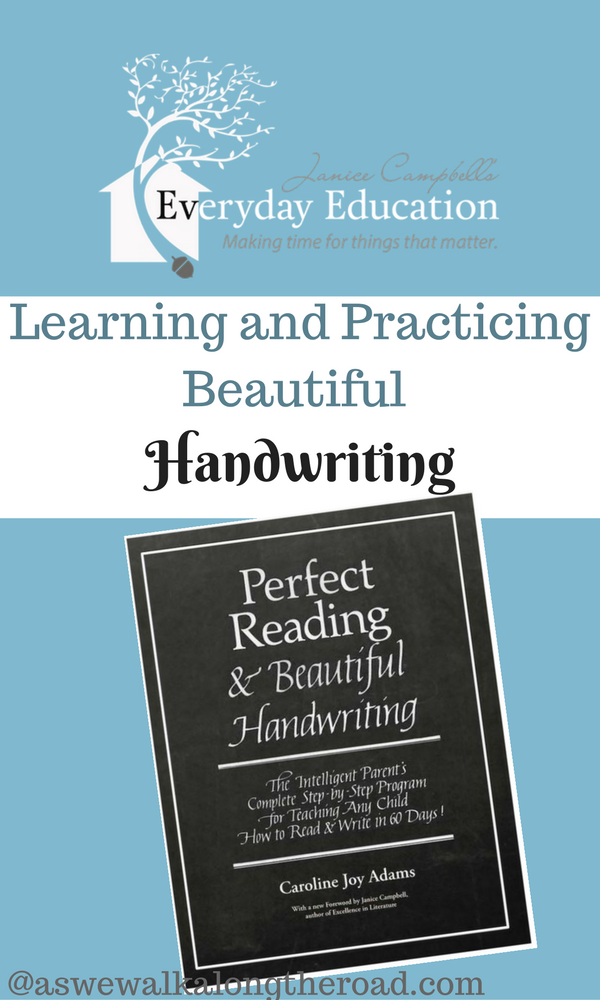Penmanship curriculum for all ages