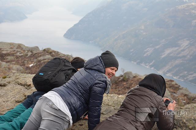 Widok z Preikestolen na Lysefjord. Firdy jadły z ręki. Top atrakcja Norwegii