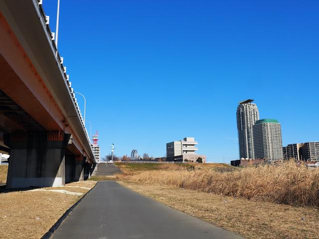 荒川自転車道 新荒川大橋